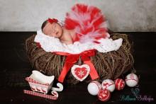 R6 ROT-WEISS Newborn TUTU Baby TUTU