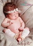 NEU!!! Stulpen UND Haarband im SET 2 teilig. Newborn