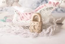 NEU!! schweres Schloss aus Gips , perfekt für Brautpaare oder Newbornshootings
