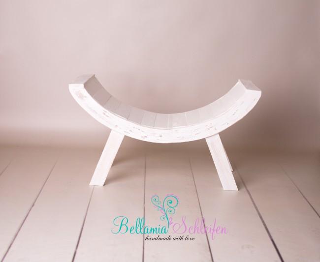 neu kurvenhocker shabby chic neue form bellamia schleifen. Black Bedroom Furniture Sets. Home Design Ideas
