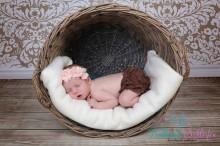 Rüschenhöschen für Neugeborene-2 Monate BRAUN