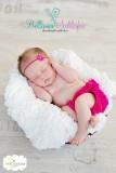 Rüschenhöschen für Neugeborene-2 Monate PINK