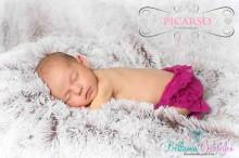 Rüschenhöschen ab Geburt - 2 Monate PLUM