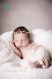 Knospenkranz UNIWEISS Newborn ( bis zum Erwachsenen  zu fertigen)