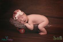 NEU!!! Newbornkappi in Rot-weiß kariert 0 Monate bis 4 Wochen