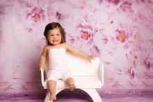 NEU!!! Jersey KINDER Romper  Mädchen Overall weiß -Rosa 6 M. bis ca. 1 1/2