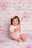NEU!!!! 2 teiliges Kinder MÄDCHEN SET Hängerchen und Pumphösche weiß rosa 8 Monate bis 2 Jahre