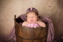 NEU!!! altrosa-Lila Blütenkranz