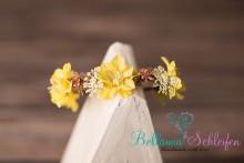 NEU!!!! Blüten MOOS-Kranz ( mit echtem moos) in wunderschönen Gelb-Natrutönen