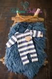 NEU!! Jungenset Blaue-weiß-beige Newbornsize
