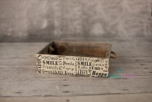 NEU!!! Buchstaben-Holz-Schublade /  Kiste