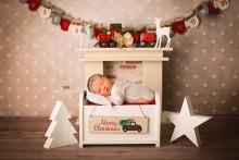 NEU!! Weihnachtsschildchen ( am Bett hängend) aus Holz