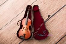 NEU!! ECHTE Mini-Geige für die Newborn- oder Kleinkinderfotos. LIMITED !!!!