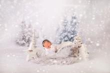 NEU!!! feines weißes Kissen für die Newborns